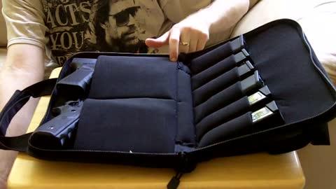 UTG Deluxe Pistol Case, a real range buddy