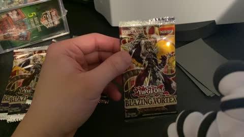 OPENING BLAZING VORTEX PACKS!