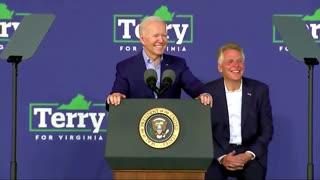 Biden Heckled During VA Rally, Brings Trump Into Conversation!