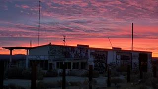Desert Sunrise Beautiful Day