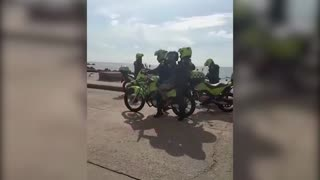 Así cayó el presunto atracador de turista en El Laguito