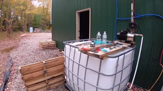 Hot Water Project at the Off-Grid Barn