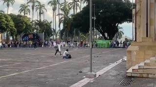 Disturbios en el Palacio de Justica Bucaramanga
