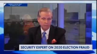 Security expert in regards to 2020 election fraud.