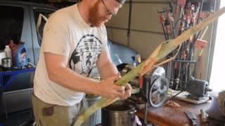 Processing Sugar Cane