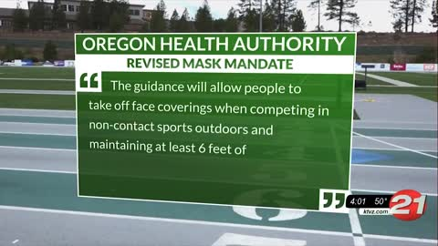 Forced to wear a mask while competing, Oregon high school runner collapses during track meet