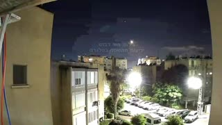 More Rockets coming in from Gaza