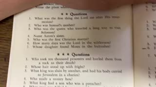 Bible Quiz 4 ⭐️⭐️⭐️