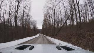 Bottom Creek Road Buffalo Creek 2_8_2021