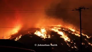 Shocking images of California's Lake fire