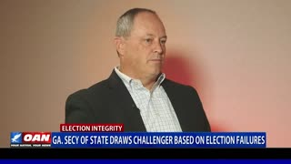 Ga. Secy. of State draws challenger based on election failures