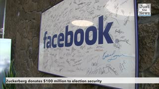 Mark Zuckerberg donates $100 million to election security after $300 million donation last month