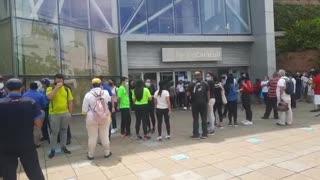 Video:Evacuaron un centro comercial de Floridablanca ante alarma de un paquete sospechoso