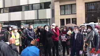Protesta por el Paro Nacional   Alemania 2