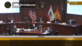 Vaccine Passports in Orange County California Speaker 2