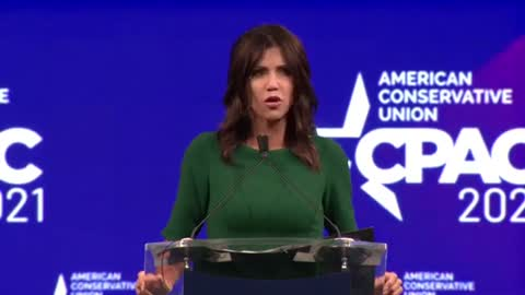 Noem Attacks Critical Race Theory, 1619 Project, and Defends Sending National Guard To Border