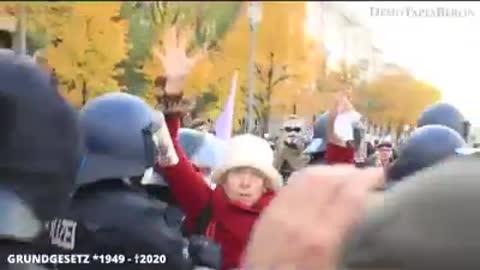 Covid 19 Demonstrations - Cut - Freiheit