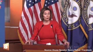 "Nancy Pelosi Says Dems Impeach ""With a Heavy Heart"""