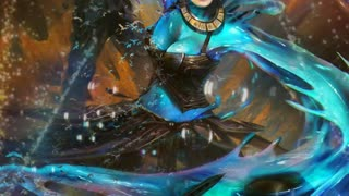 LAYLA AS A WATER WOMAN