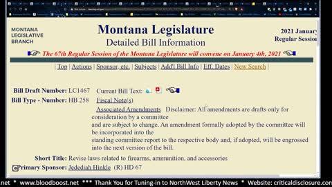 Montana HB 258 Explained
