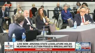 Bobby Piton testifies at AZ Election Fraud Hearing