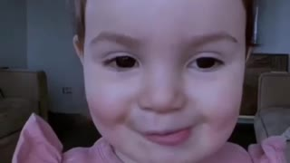 You are my sunshine - cute little angel singing