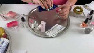How To Make Nail Polish Color Strawberry Pink