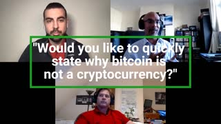 Bitcoin is not a cryptocurrency