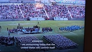 JFK is like Trump. Pro USA!