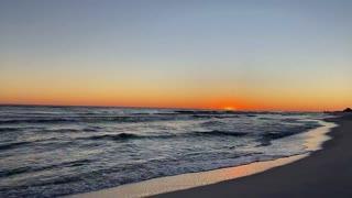 Navarre Beach Christmas Sunset