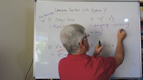 Math Factor Set A 03 Common Factors More Simple but Tricky Cases