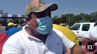 Con Yucatón, cartageneros protestan por cobro de peajes
