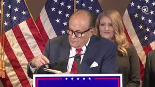 Giuliani presents proof of voter fraud