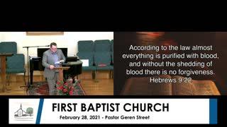 Sunday Morning Worship Service - February 28, 2021