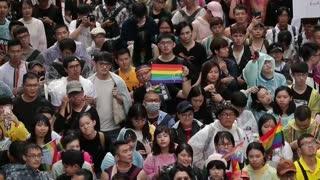 Taiwán legalizó el matrimonio homosexual, un hecho sin precedentes en Asia