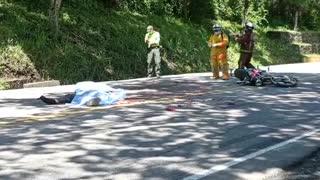 Motociclista se mató en un accidente de tránsito este sábado en Santander