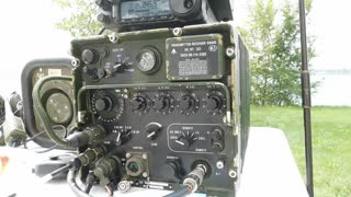 Clansman VRC-321 on Belle Isle