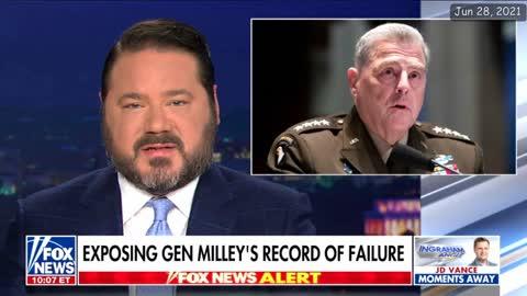 Domenech Demolishes 4-Star General Mark Milley