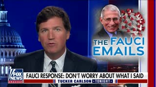 Tucker DESTROYS Fauci and the Media Over Email Scandal