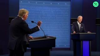 Presidential Debate Trump Says Biden Wouldn't Have Done Better on Virus Pandemic