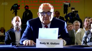 Rudy Giuliani PA Testimony - Voter Fraud