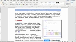 IWD Chapter 5 HTML Emojis