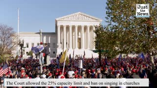 Divided Supreme Court blocks California from banning indoor church services