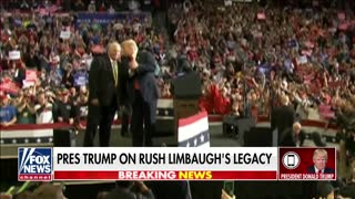 Trump remembers 'spellbinding' Rush Limbaugh on 'Hannity'