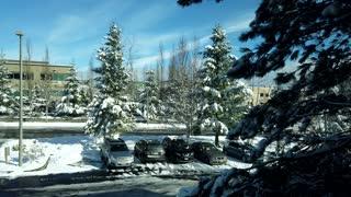Snowy Snoqualmie Time Lapse