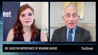 Fauci Admits On Camera That He Lied About Masks