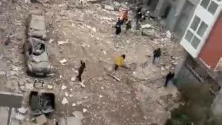 🚨Huge explosion in Madrid!