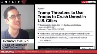 Trump calls for VIOLENT MILITARY COUP Exposes Republican Evil