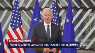 Biden arrives In Geneva ahead of critical Putin summit