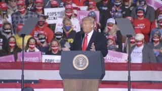 Trump rally in Pennsylvania